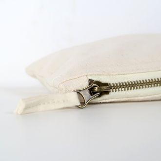 blank zip pouch