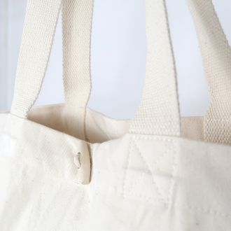 blank organic cotton bag