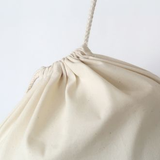 blank cotton backpack