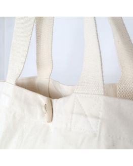personalized organic cotton tote bag